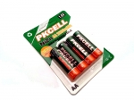 PACK 4 RECHARGEABLE BATTERIES  Ni-Zn AA 1,6 V