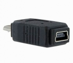 ADAPTADOR USB 2.0 MINI-USB (HEMBRA) A MICRO-USB (MACHO)
